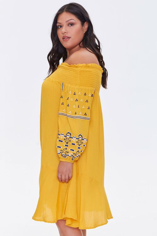 Plus Size Embroidered Dress, image 2