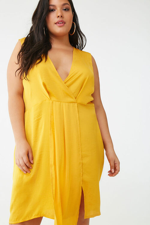 Plus Size Missguided Sleeveless Mini Dress, image 1