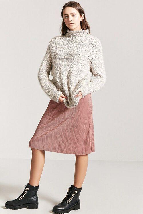 Accordion Pleat Skirt, image 1