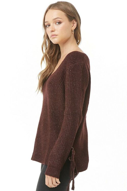 PLUM Vented Marled Knit Sweater, image 2