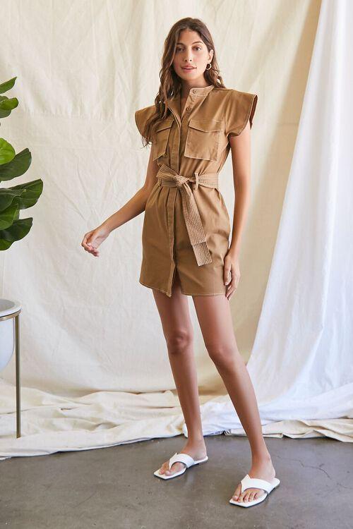 Tie-Waist Mini Dress, image 4