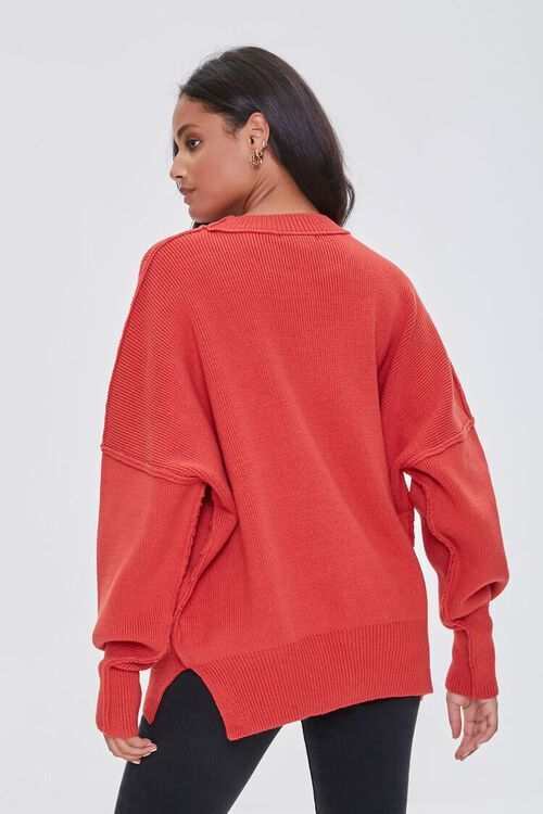 CORAL Dropped-Sleeve Sweater, image 3