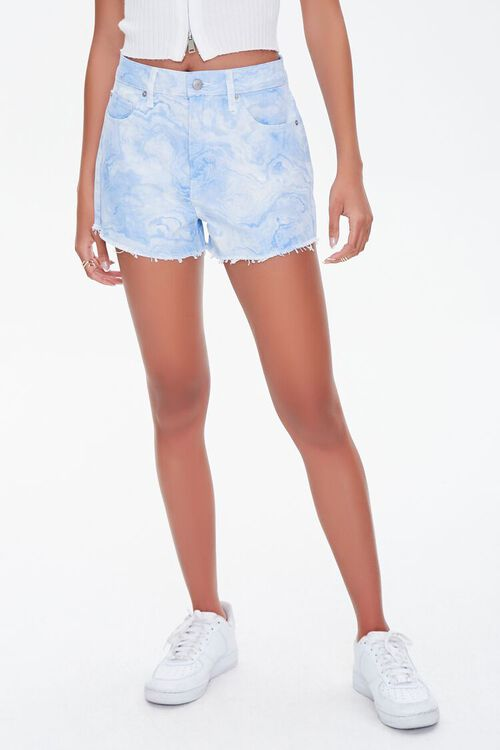 Tie-Dye Wash Twill Shorts, image 2