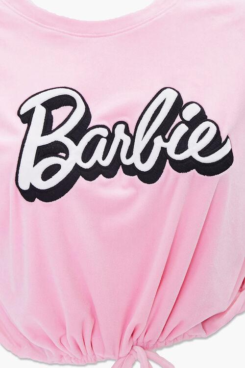 Plus Size Velour Barbie™ Pullover, image 4