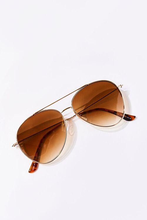 Men Tinted Aviator Sunglasses, image 4