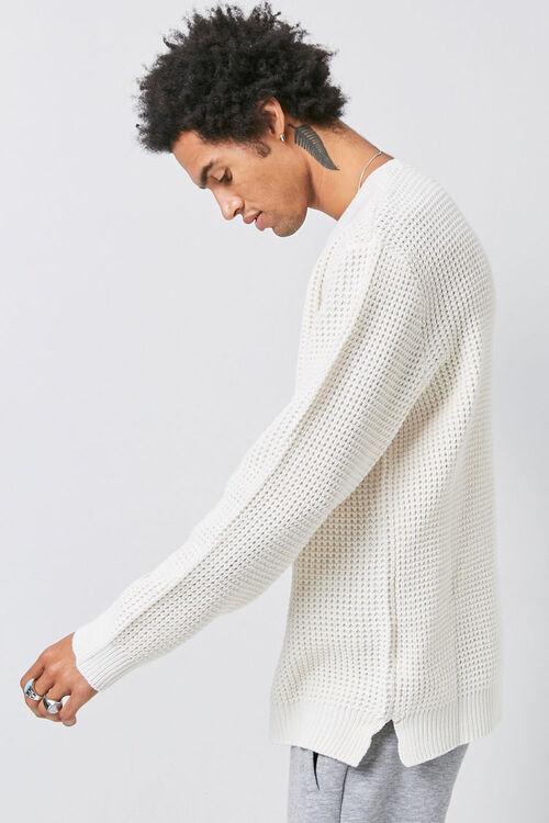 Waffle Knit Sweater, image 2