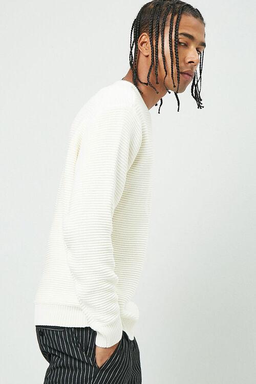 Ribbed Long Sleeve Sweater, image 2