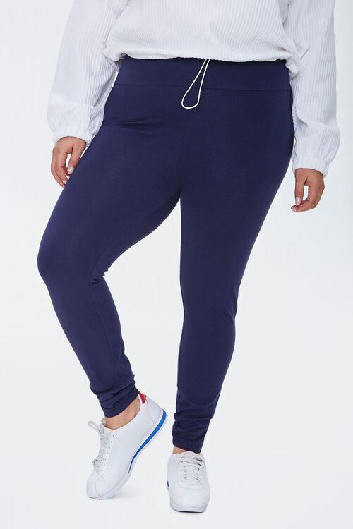 Plus Size High-Rise Long Leggings, image 2