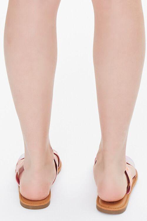 Tie-Dye Dual-Strap Sandals, image 3