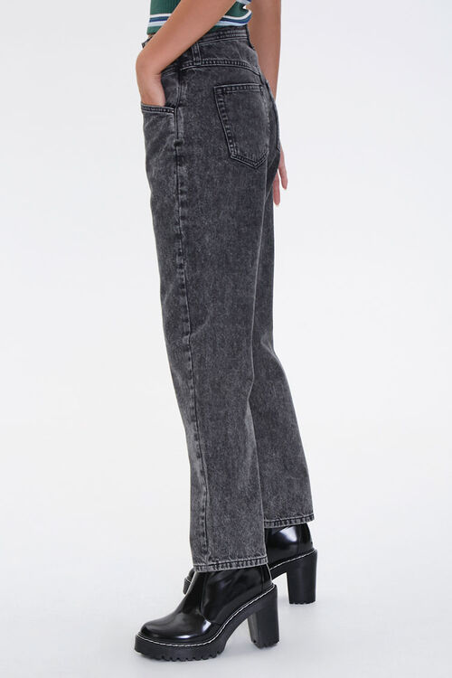 Acid Wash Straight-Leg Jeans, image 3