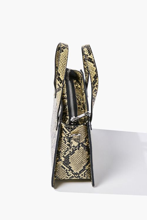 Faux Snakeskin Tote Bag, image 2