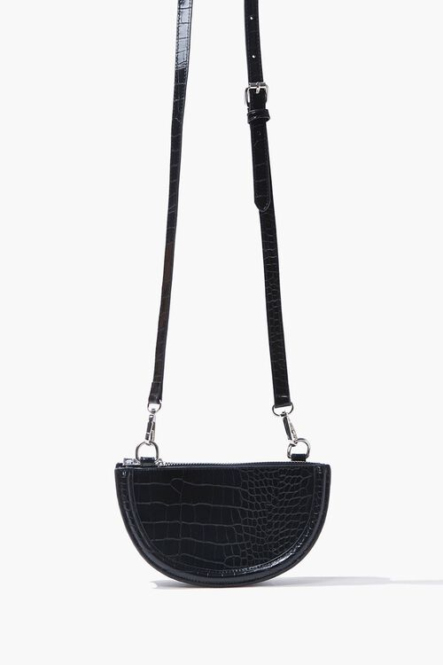 Faux Croc Crossbody Bag, image 3