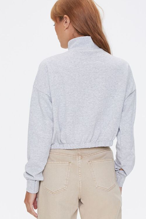 Heathered Turtleneck Pullover, image 3