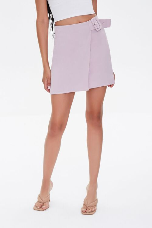 Belted Wrap Skirt, image 2