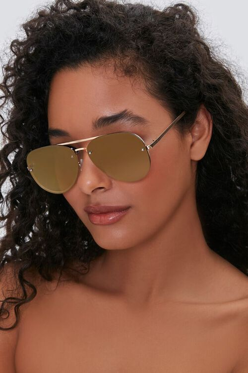 Metal Aviator Sunglasses, image 2