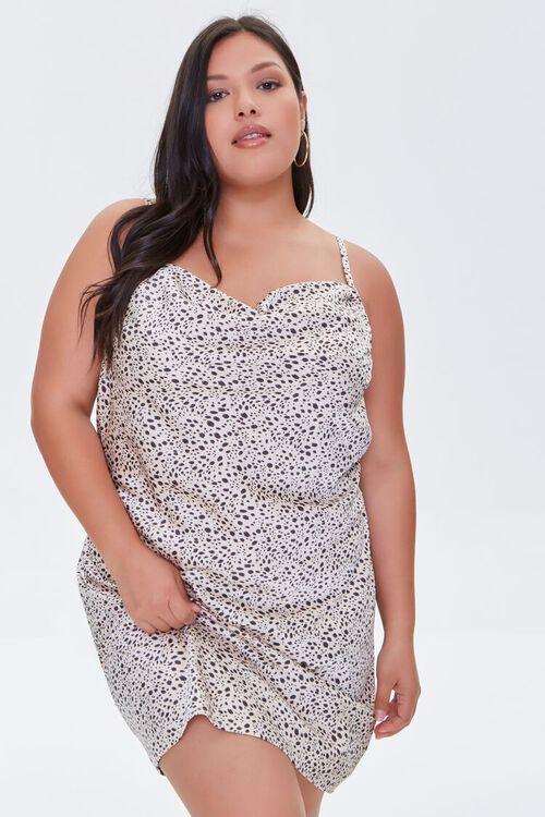 Plus Size Cheetah Print Dress, image 5