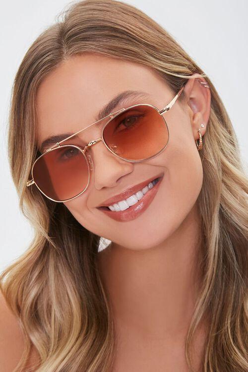 Aviator Frame Sunglasses, image 1