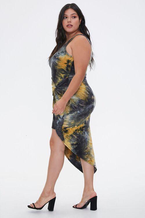 Plus Size Tie-Dye Tulip Dress, image 2