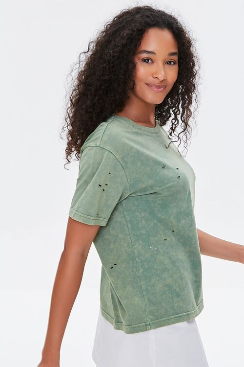Distressed Mineral Wash Tee, image 2