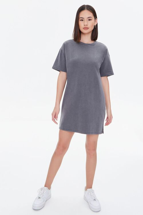 Mineral Wash T-Shirt Dress, image 4