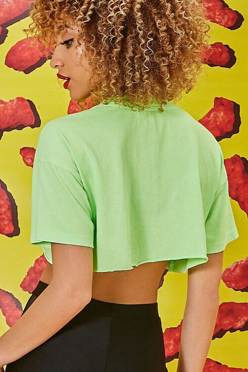 Cheetos Graphic Cropped Tee, image 3