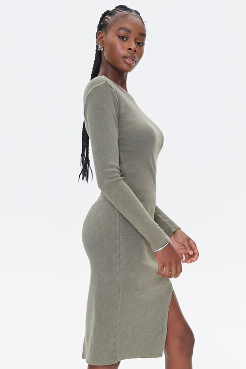 Asymmetrical Bodycon Dress, image 2