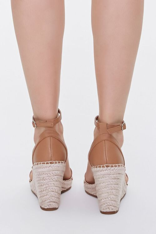 Strappy Espadrille Wedges, image 3