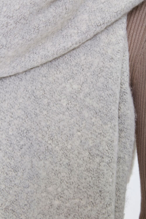 Brushed Knit Oblong Scarf, image 2
