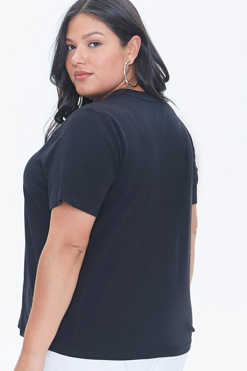 Plus Size Stand Up To Cancer Lover & Fighter Tee, image 3