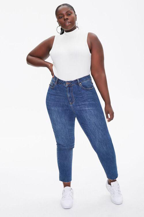 Plus Size Sleeveless Turtleneck Bodysuit, image 4