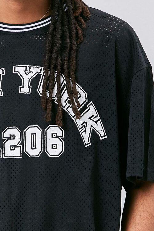 New York Graphic Jersey Mesh Tee, image 5