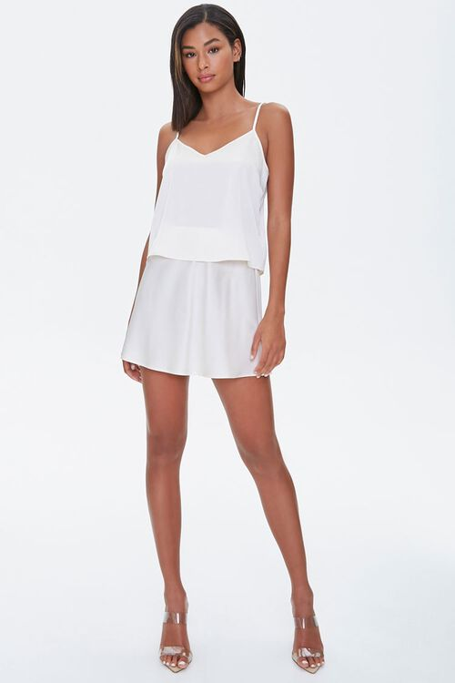 Satin Mini Skirt, image 5