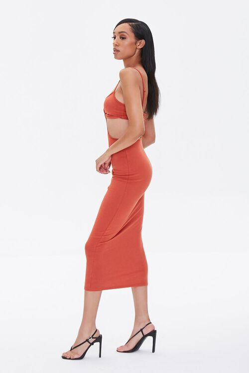 Cutout Cami Midi Dress, image 2