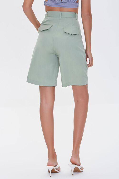 High-Rise Straight-Leg Shorts, image 4