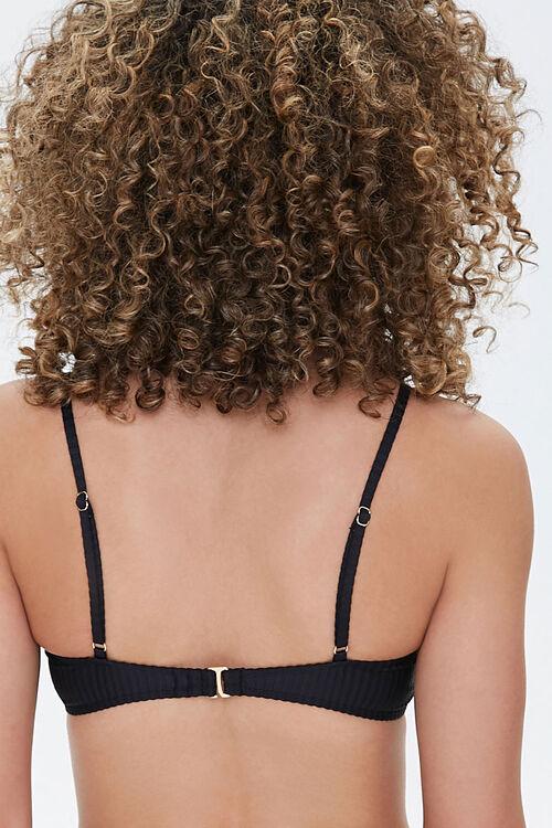 Ribbed Bralette Bikini Top, image 3