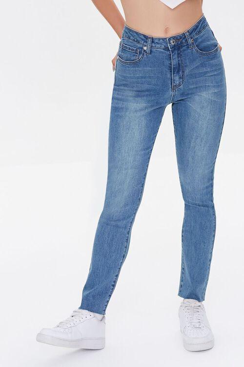 MEDIUM DENIM High-Rise Mom Jeans, image 2