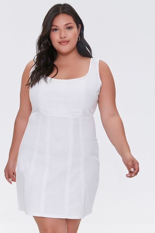 Plus Size Tank Mini Dress, image 1