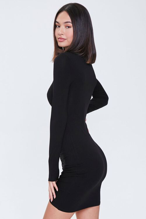 Cutout Ruched Bodycon Dress, image 2