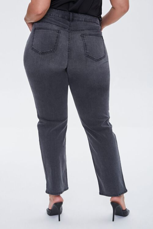 Plus Size Recycled Straight Jeans, image 4