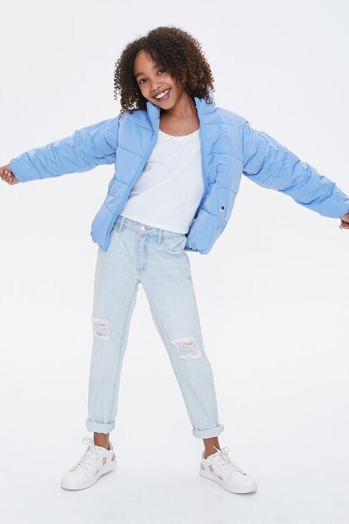 Girls Puffer Jacket (Kids), image 4