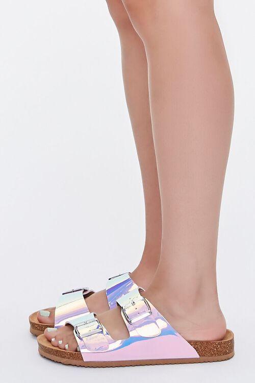 Iridescent Buckled Sandals, image 2