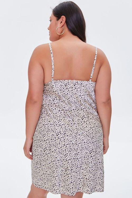 Plus Size Cheetah Print Dress, image 3