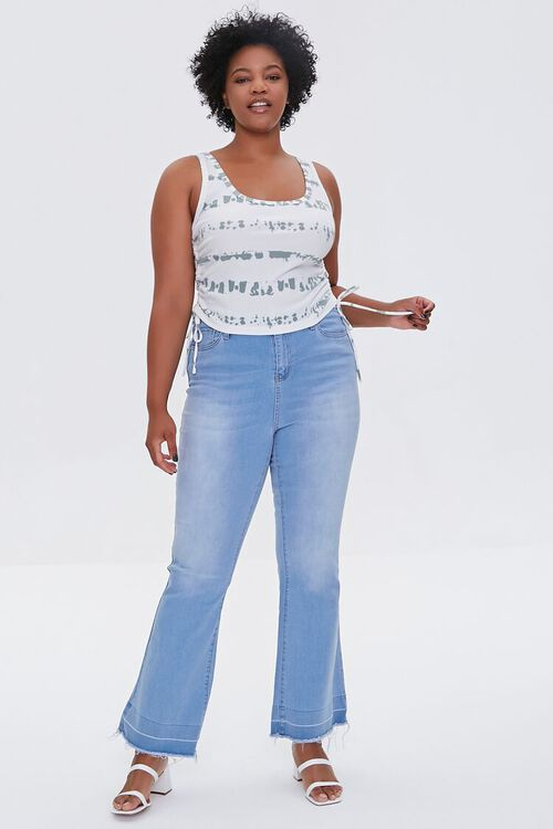 Plus Size Ruched Drawstring Top, image 4