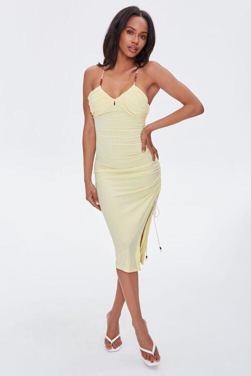 Beaded Cami Mini Dress, image 4