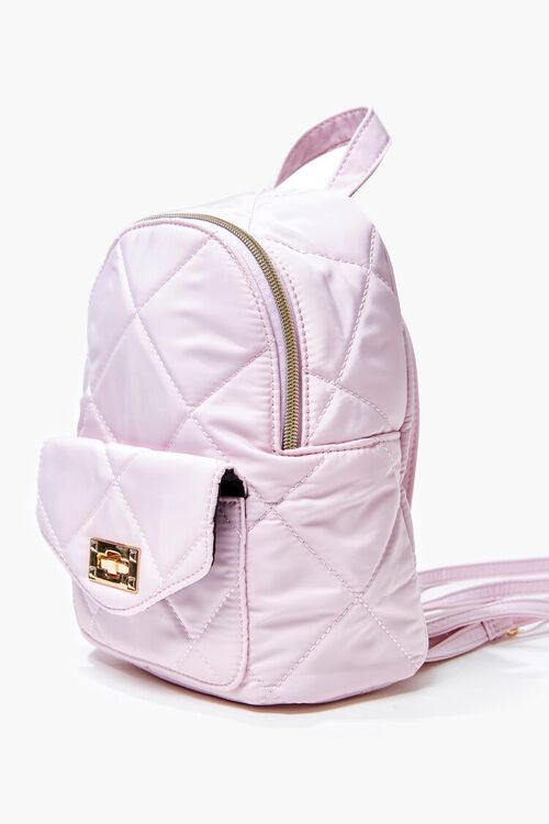 Quilted Mini Backpack, image 2