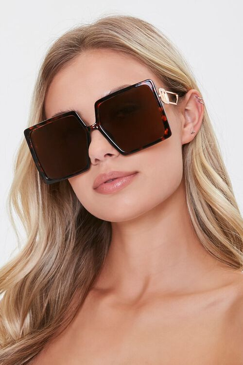 Oversized Square Sunglasses, image 1