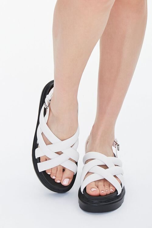 Strappy Flatform Sandals, image 4