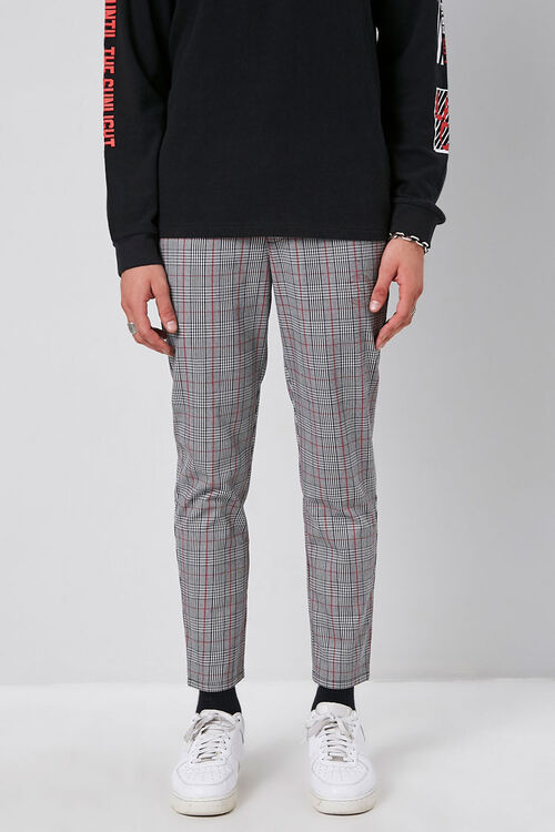 Plaid Woven Trousers, image 2