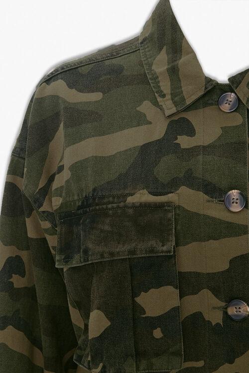 Camo Button-Down Jacket, image 3