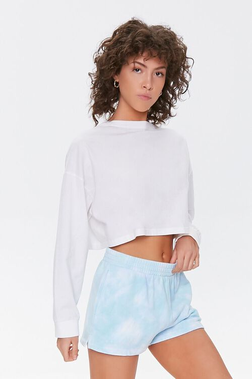 Cloud Wash French Terry Shorts, image 1